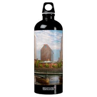 City - RI - Providence - The city of Providence Water Bottle