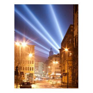 City Road Lamps Image Postcard