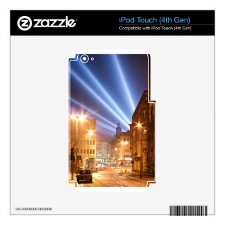 City Road Lamps Image Skins For iPod Touch 4G