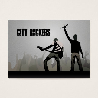 City Rockers Chubby Business Cards