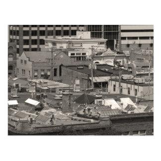 City Roofs Postcard
