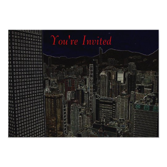 City Rooftop Card
