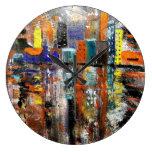 city round clocks