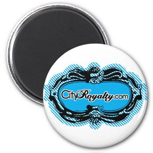City Royalty Cameo Fridge Magnets