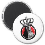 City Royalty Logo Fridge Magnet