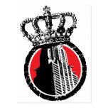 City Royalty Logo Postcard