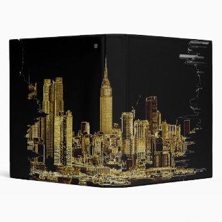 city scape binder