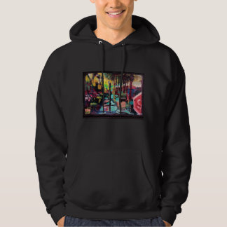 city scape hoodie