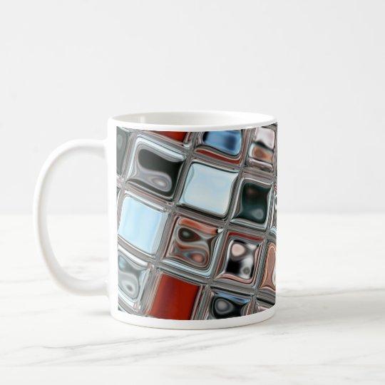 City Scape mosaic glass Coffee Mug