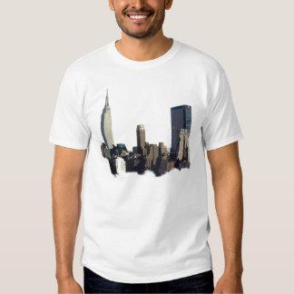 City Scape New York Skyline T-Shirt