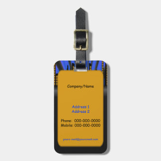 City Scapes Luggage Tag