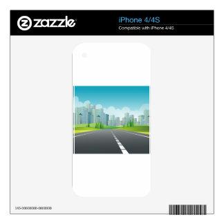 City Scene iPhone 4S Decals