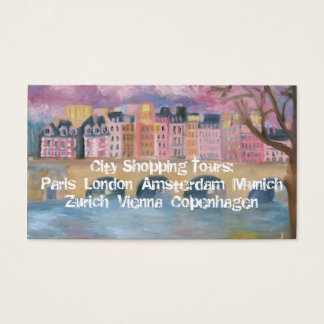 City Shopping Tours Business Card