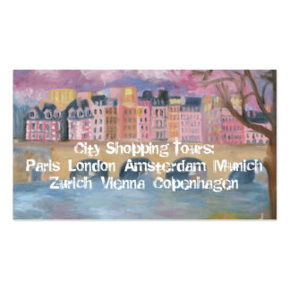 City Shopping Tours Double-Sided Standard Business Cards (Pack Of 100)