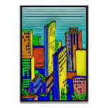 City Skyline 14 Posters