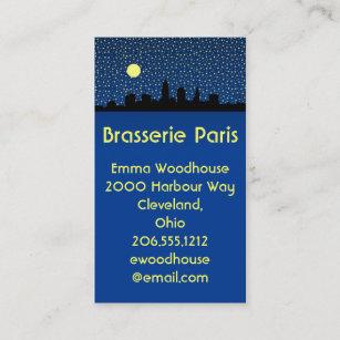Cleveland skyline business cards templates zazzle city skyline business cards cleveland ohio colourmoves