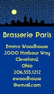Cleveland ohio business cards templates zazzle city skyline business cards cleveland ohio colourmoves