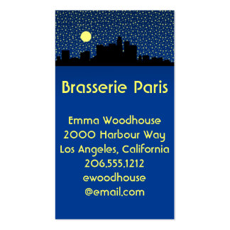 City Los Angeles Business Cards & Templates