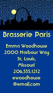 St louis business cards zazzle city skyline business cards st louis colourmoves