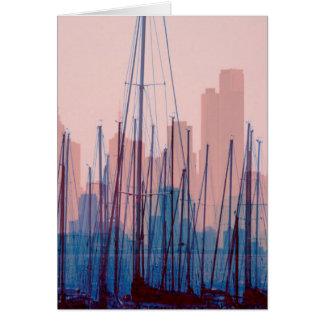 City Skyline Card