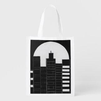 City Skyline Grocery Bag