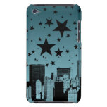 City Skyline Night Barely There iPod Cases