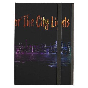 City Skyline Night Lights iPad Air Case