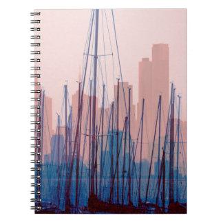 City Skyline Notebook
