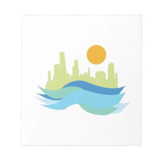 City Skyline Scratch Pad