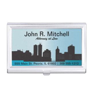 City Skyline Personalize Card Holder