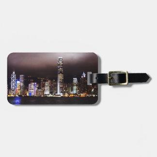 City Skyline Personalized Luggage Tag