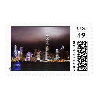 City Skyline Postage