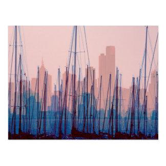 City Skyline Postcard