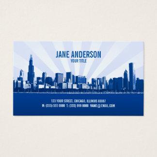 City Skyline Professional business card