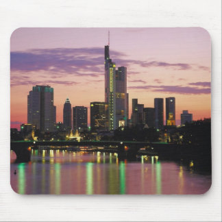 City Skyline Reflections On The Water Mouse Pad