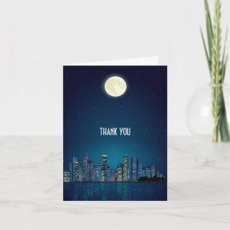 City Skyline Thank You