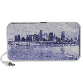 City Skyline Waterfront Speaker System