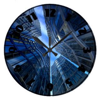 City Skyscrapers Clock