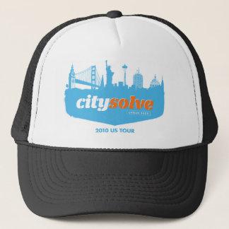 City Solve 2010 Cityscape Trucker Hat