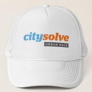 City Solve Logo Trucker Hat