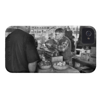 City - South Street Seaport - Apples & Mustard iPhone 4 Case