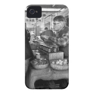 City - South Street Seaport - Apples & Mustard iPhone 4 Case-Mate Case
