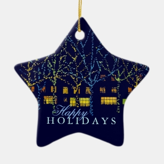 City Square Holiday Lights Ornament