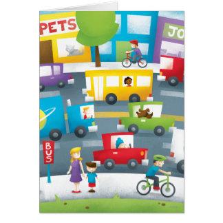 City Street Card