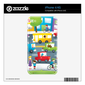 City Street iPhone 4S Decal