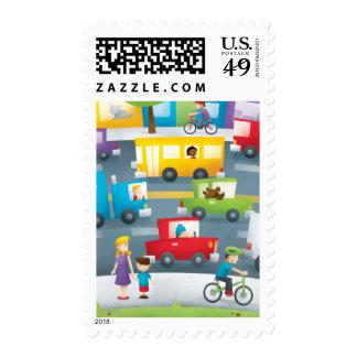 City Street Postage