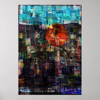 """""""City Sun 2"""" Print"""