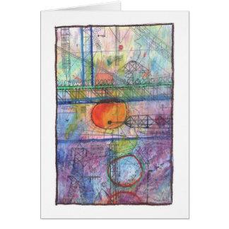 City Sunrise Card
