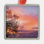 City Sunset.jpg Christmas Tree Ornaments