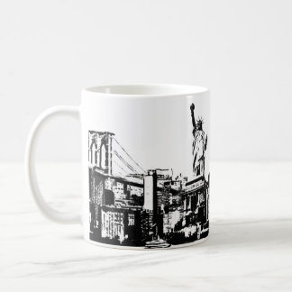 City that inspires you coffee mug